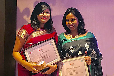 Bangladesh women's awards